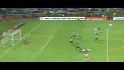 Tremenda tijera de Wanchope por la Libertadores 2016