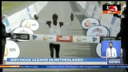 Kipchoge triunfó en Países Bajos