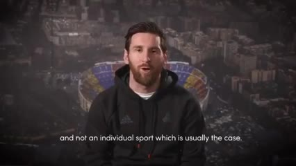 Messi agradeció el premio