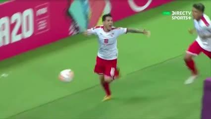 Bustos marcó el gol de la clasificación