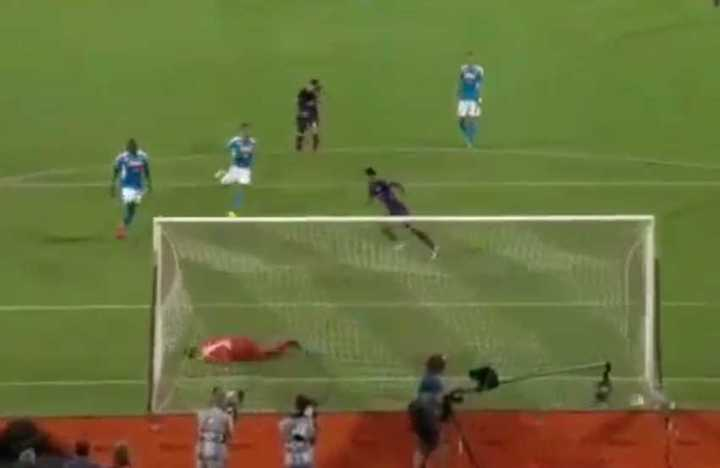 Los goles de Fiorentina 3 - Napoli 4