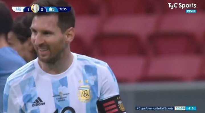 Buen arranque de Messi