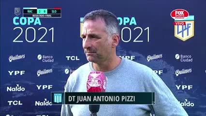 Pizzi habló luego de la victoria de Racing ante San Lorenzo
