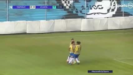 El gol de Sebastian Riquelme, hermano de Roman, en el 3-0 de Atlanta