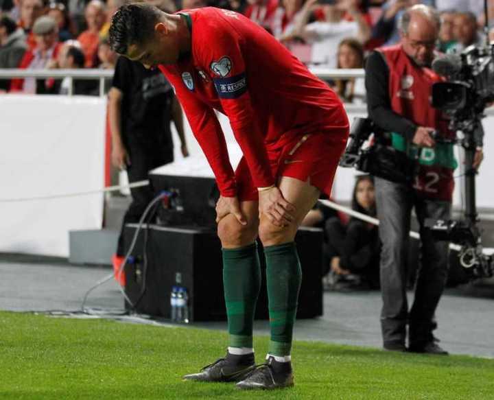 Lo que hizo Cristiano y la lesión