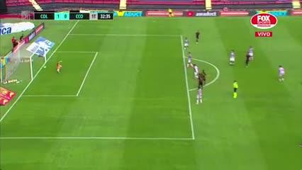 Colón anotó el primero frente a Central Córdoba
