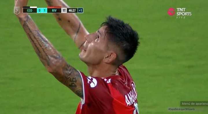 Angeleri marcó el 1 a 0