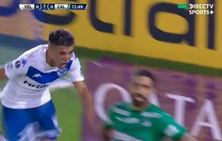 Almada anotó el 1 a 0 de Vélez