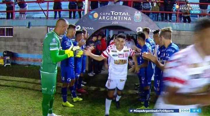 Unión le hizo el pasillo a Barracas por lograr el Ascenso