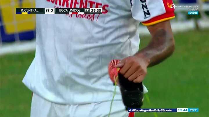 Ríos perdió en botín en el segundo gol