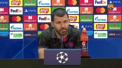 El Kun y el presente del Barcelona en la Champions