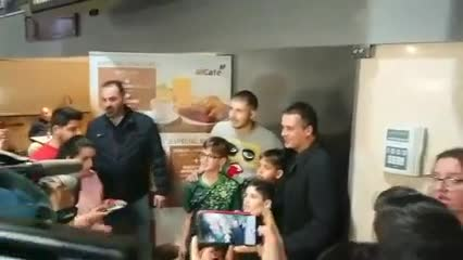 Guido Rodríguez llegó a Sevilla