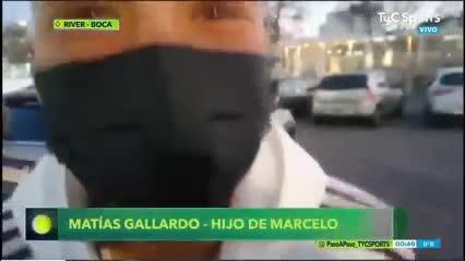 "Matías Gallardo: ""Fue un baile"""