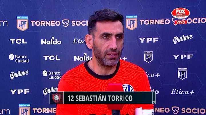 La autocrítica de Sebastián Torrico tras la derrota ante Colón