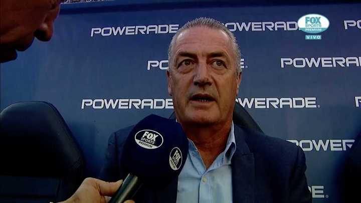Alfaro anunció su salida de Boca