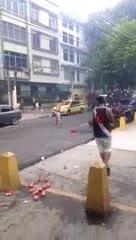 Disturbios en Vasco-Flu en el Maracaná