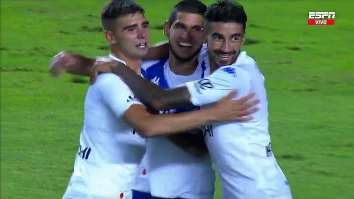 Vélez marcó el 3 a 1