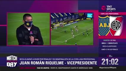 """Riquelme: """"La patada de Maidana era roja"""""""