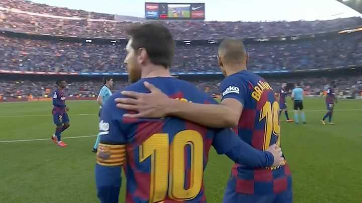 Los goles de Barcelona 5 Eibar 0
