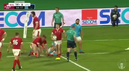 Lo mejor de Gales-Uruguay