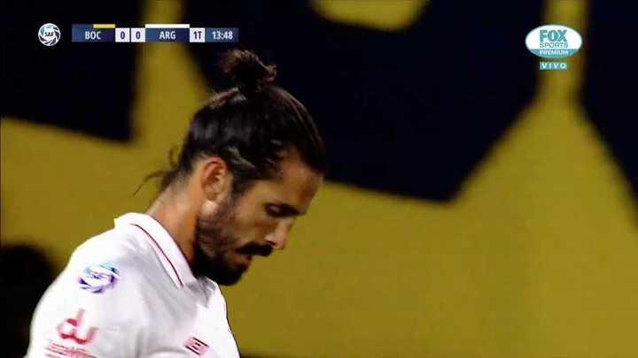 El gol en contra de Angeleri fue anulado