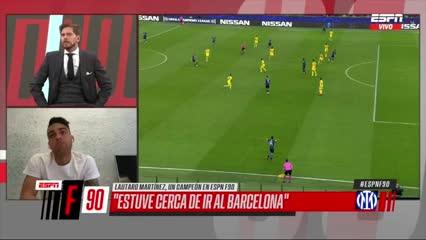 Martínez contó por qué no fue al Barcelona
