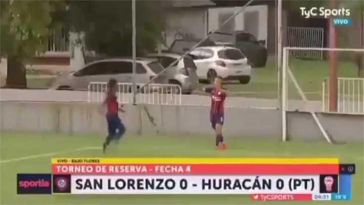 Los goles de Peralta Bauer en Reserva