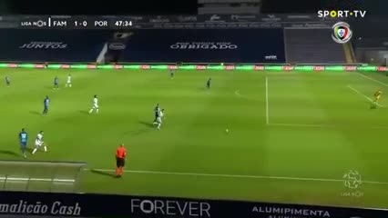 Increíble blooper de Marchesín en Portugal