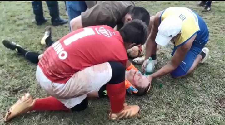 Tremenda agresión a un árbitro en Misiones.