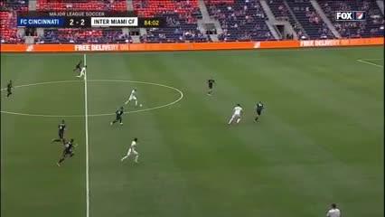 Los goles de Higuaín al Cincinnati