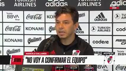 Gallardo confirmó que Enzo Pérez va a ser parte del equipo