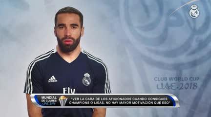 """Dani Carvajal y el """"jugador número 12"""""""