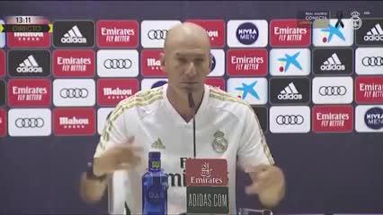 El enojo de Zidane por Bale