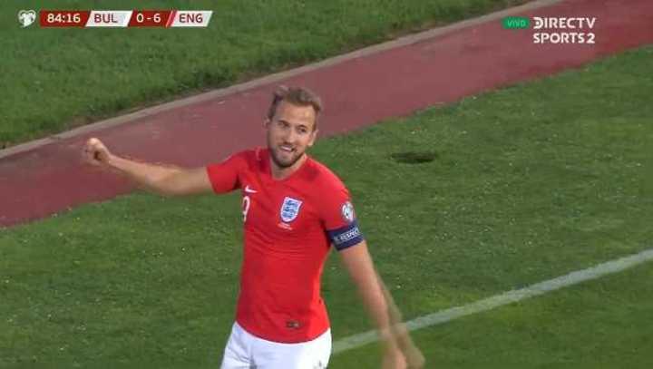 Mira los 6 goles de Inglaterra a Bulgaria
