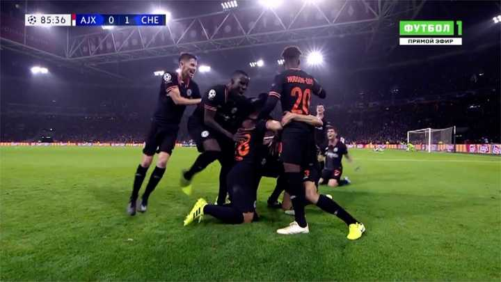 El gol de la victoria del Chelsea