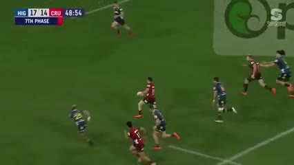 Los tries de Highlanders 20 - Crusaders 40