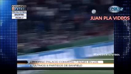 A 6 años de este golazo de Rodrigo Palacio en Banfield