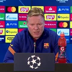Koeman y su decisión de darle descanso a Messi