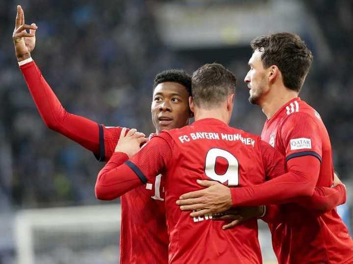 La victoria del Bayern