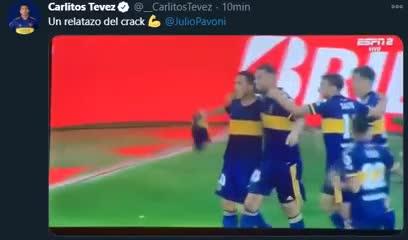 El relato que emocionó a Tevez