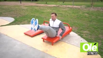 Pablo Berger comparte con vos una rutina de abdominales