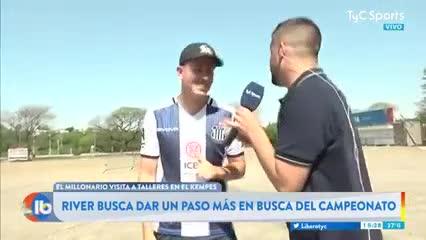 El ex vecino de Messi en la previa de Talleres-River