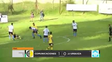 El 1-0 de Comunicaciones a JJ Urquiza