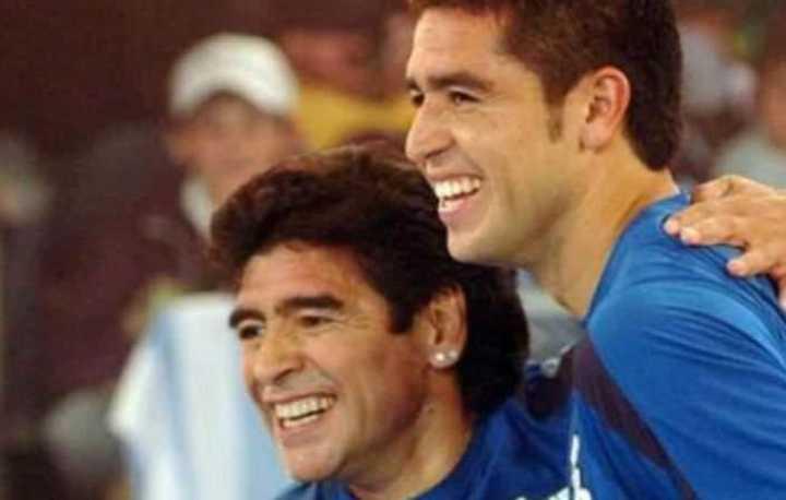 Riquelme sobre Maradona