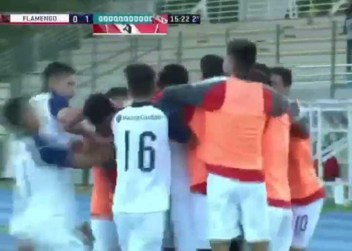 El gol del Sub 20 de Independiente a Flamengo