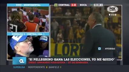 """Diego Maradona: """"Yo no soy inglés, yo no traiciono. Otros sí lo hacen"""""""