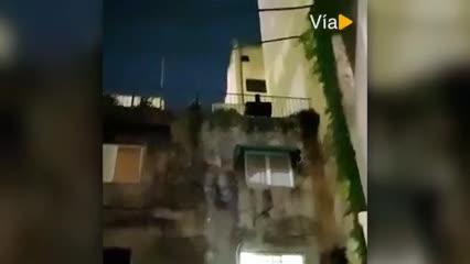 Los aplausos en la noche porteña por Diego