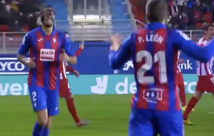 El Eibar sorprendió al Atlético Madrid