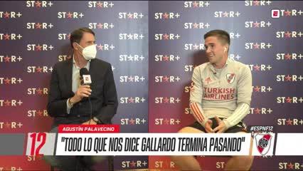 Palavecino y lo que significa jugar al lado de Enzo Pérez
