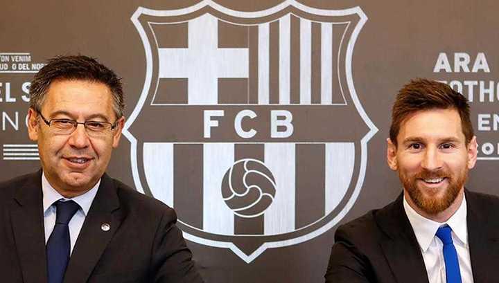 La guerra entre Messi y Bartomeu